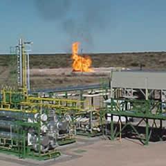 Planta Gas y Petroleo